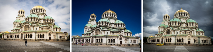 The many moods of Alexander Nevsky Cathedral.